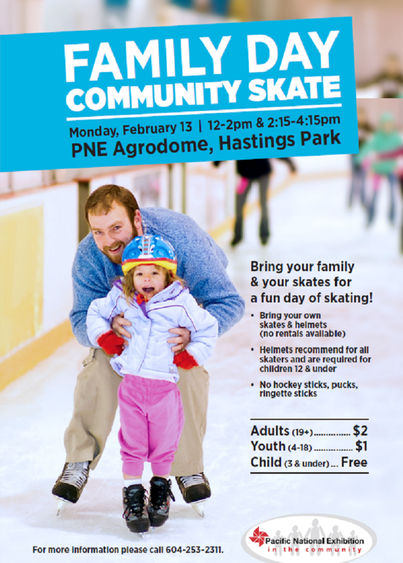 Family Day Community Skate