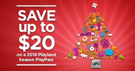 Playland PlayPass Discount