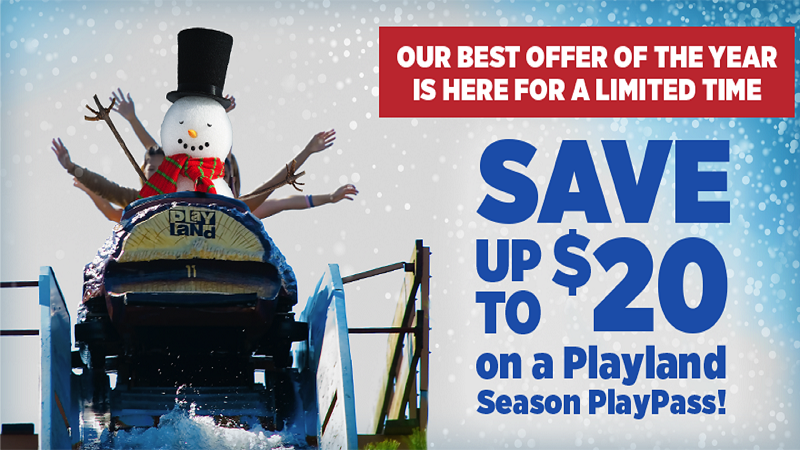 Playland Season PlayPass