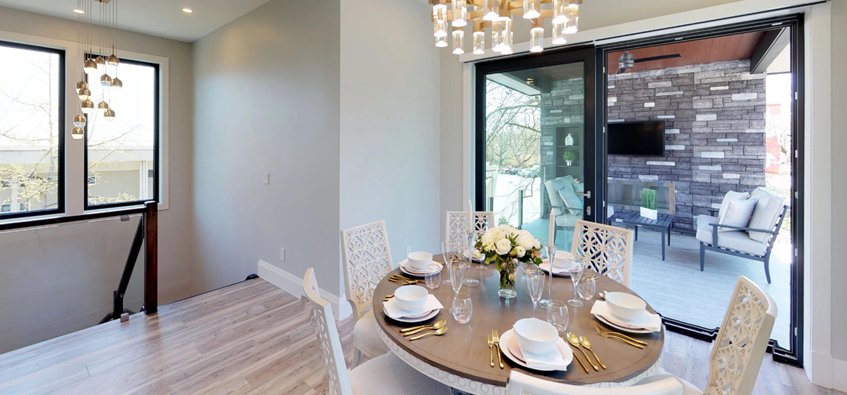I Will Share With You Some Of The Homes Most Incredible Features Lets Take A Tour Next Set Rooms In Upper Level Dining Room