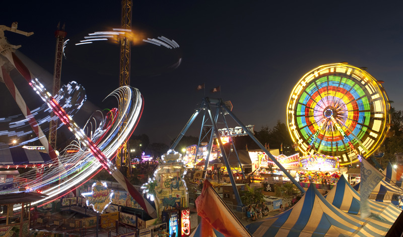 Some of the rides at The Fair at the PNE at night! Come take in a show, eat a few mini donuts and ride these beautiful rides at night!